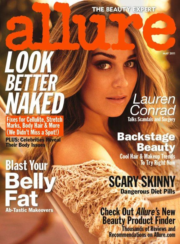 Lauren Conrad Allure Magazine May 2011