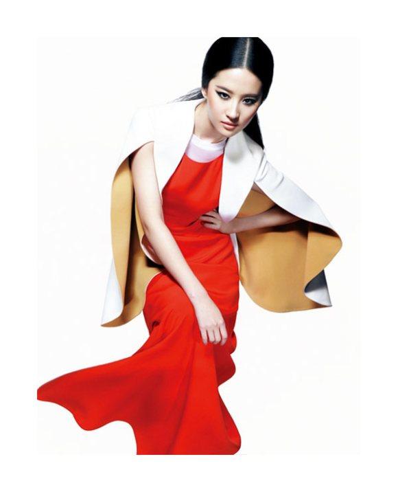 Liu Yifei for Harper's Bazaar China May 2011