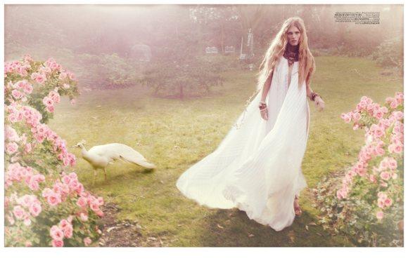 Malgosia Bela in Vogue Turkey April