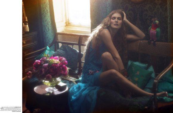 Malgosia Bela in Vogue Turkey April 2011