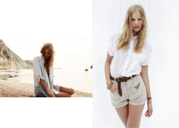 Marloes Horst MiH Jeans Spring 2011