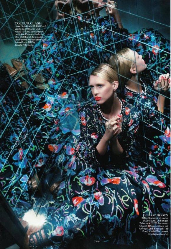 Nadine Wolfbeisser 1st Magazine April 2011