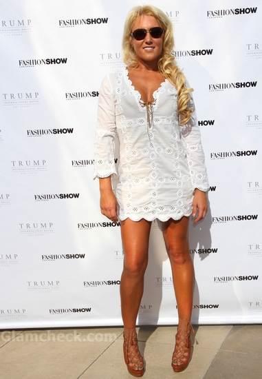 Natalie Gulbis  cool summer look