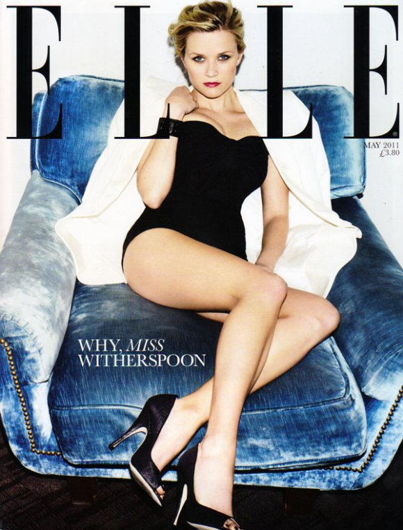 Reese Witherspoon Elle UK May 2011