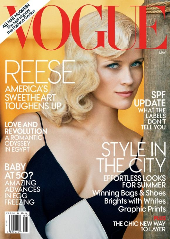 Reese Witherspoon Vogue US May 2011