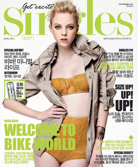 Skye Stracke Singles Korea April