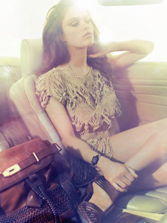 Sophie Vlaming Marie Claire Italia May 2011