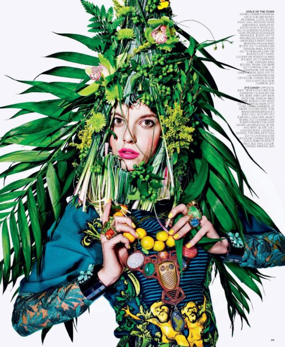 Tati Cotliar T Magazine Summer 2011
