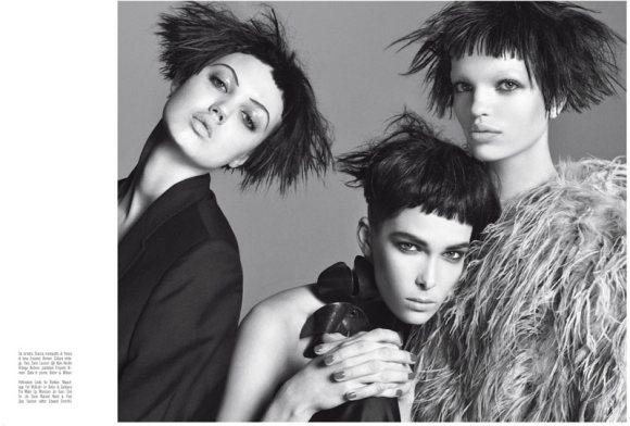 Vogue Italia April 2011