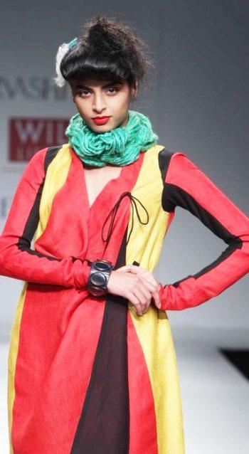 WIFW urvashi kaur A-W-2011-1