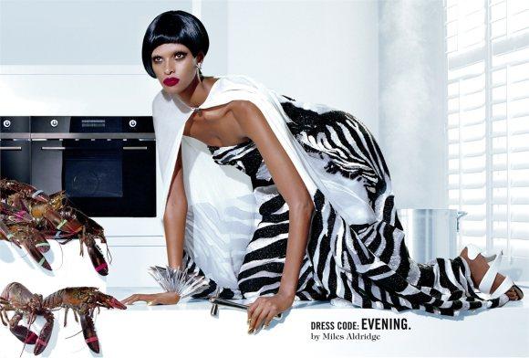 Yasmin Warsame Vogue Italia April 2011