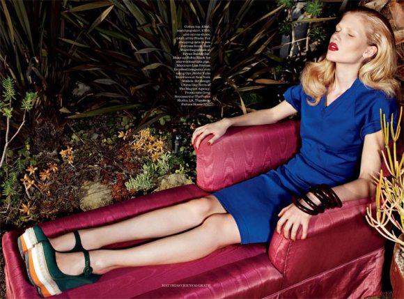 Yulia Terentieva Elle UK May 2011