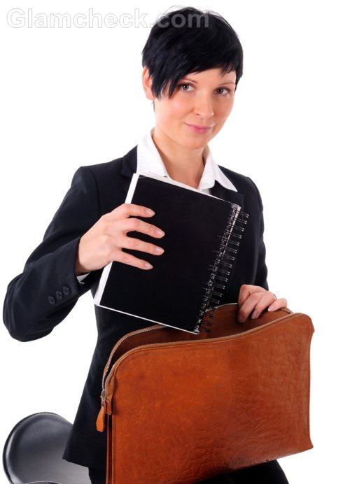 Accessories for business attire briefcase