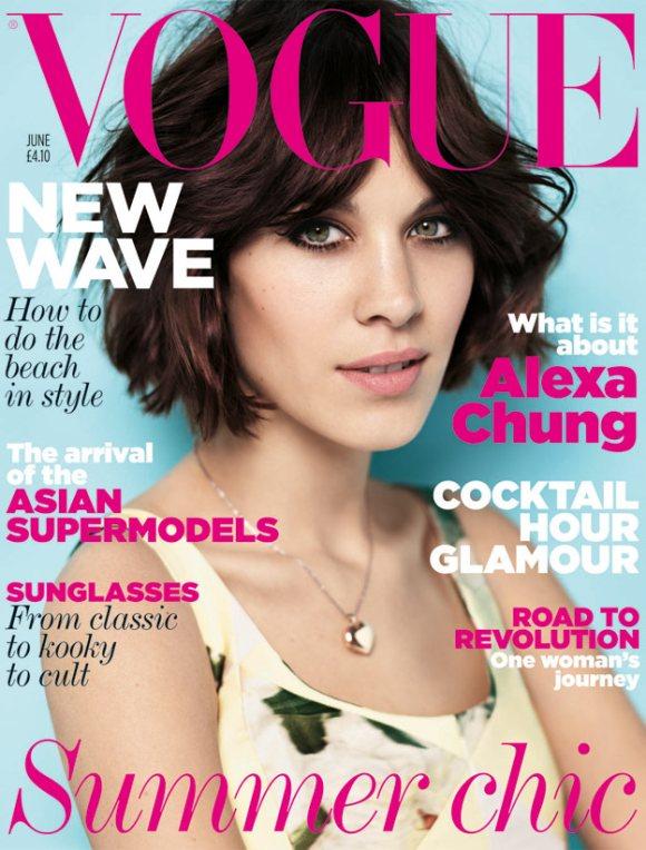 Alexa Chung Vogue UK June 2011