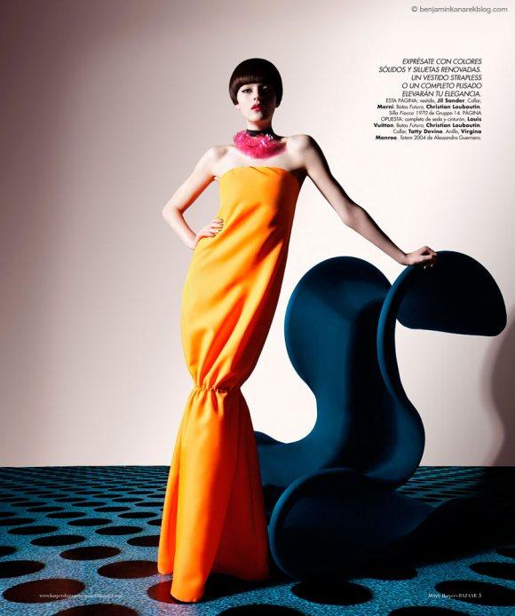 Amber Anderson Harpers Bazaar Espanol May 2011