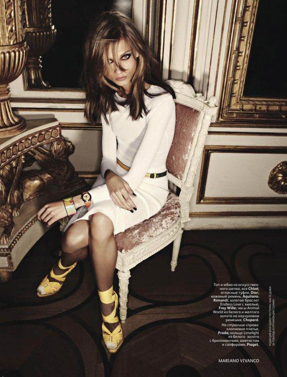 Anna Selezneva Vogue Russia June 2011