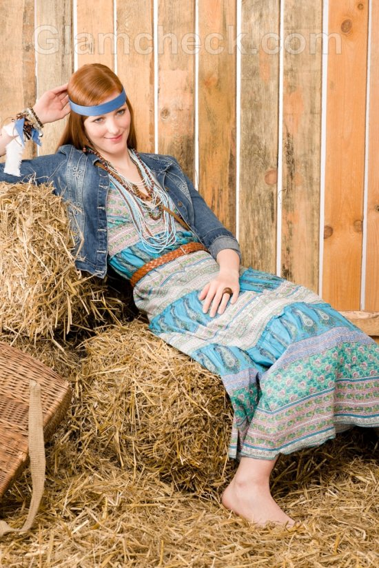 Bohemian clothes-prints