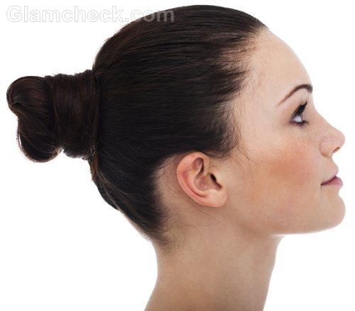 Business women hairstyles long hair bun