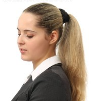 Business women hairstyles long hair ponytail