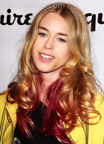 Celebrity-hair-color-Mary-Charteris-pink-hair