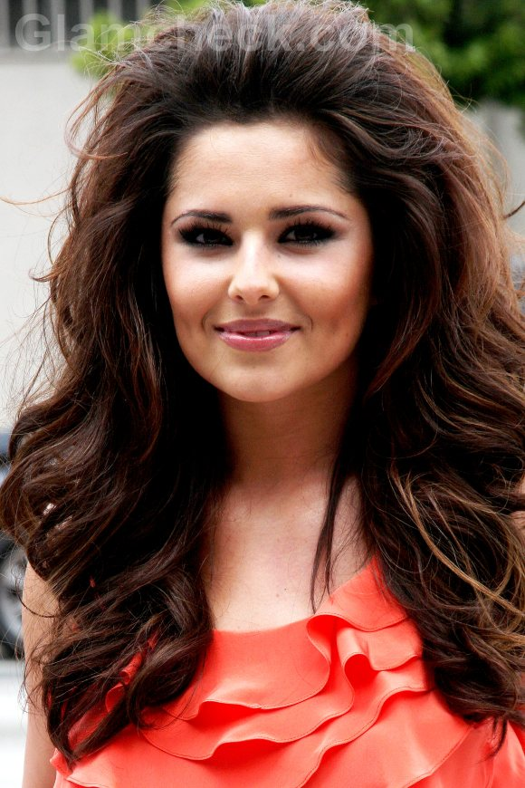 Cheryl Cole hairstyle voluminous hair