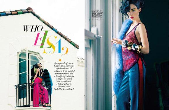 Christina Carey Harpers Bazaar Singapore May 2011