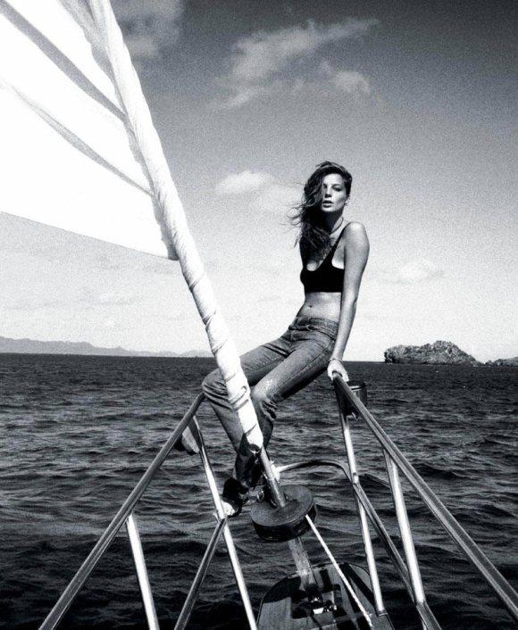 Daria Werbowy T Magazine Travel