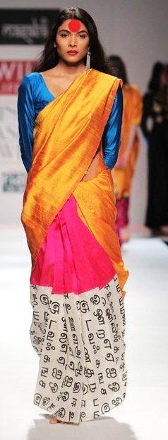 Designer Masaba Gupta A-W 2011-3