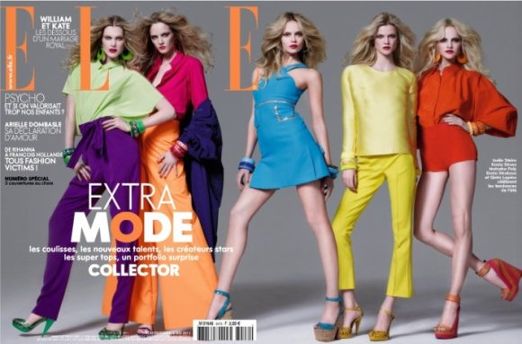 Elle France May 2011