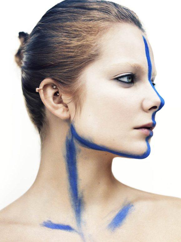 Eniko Mihalik Vogue Italia May 2011