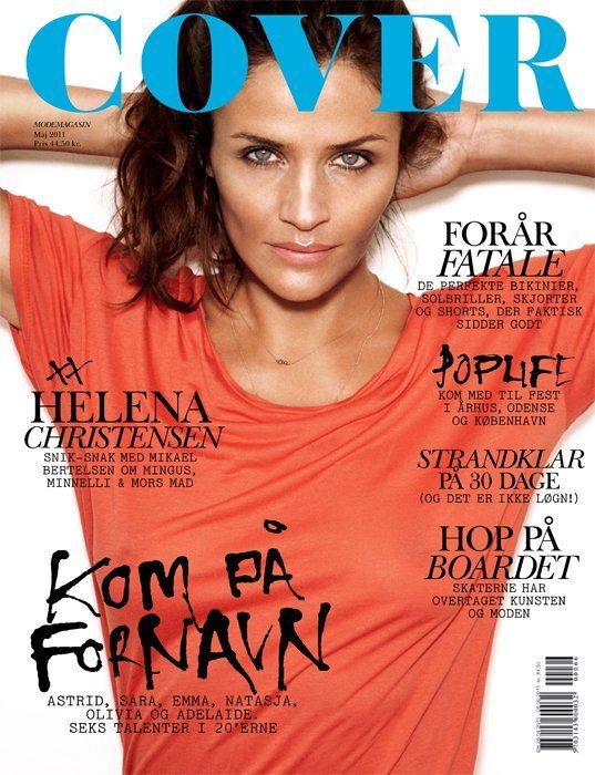 Helena Christensen Cover Denmark May 2011