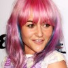 Jaime-Winstone-new-color-pink-blue-purple-streaks