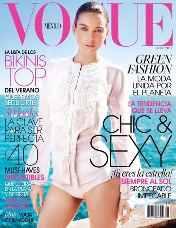Kim Noorda Vogue Mexico June 2011