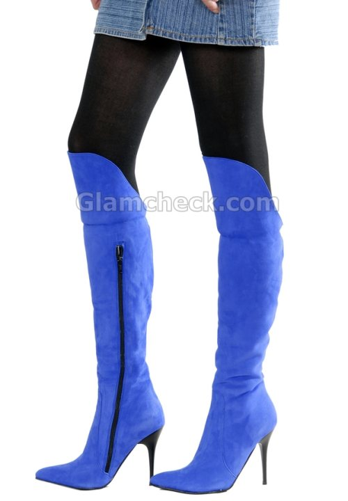Women's Knee High Fashion Boots | Santa Barbara Institute for ...