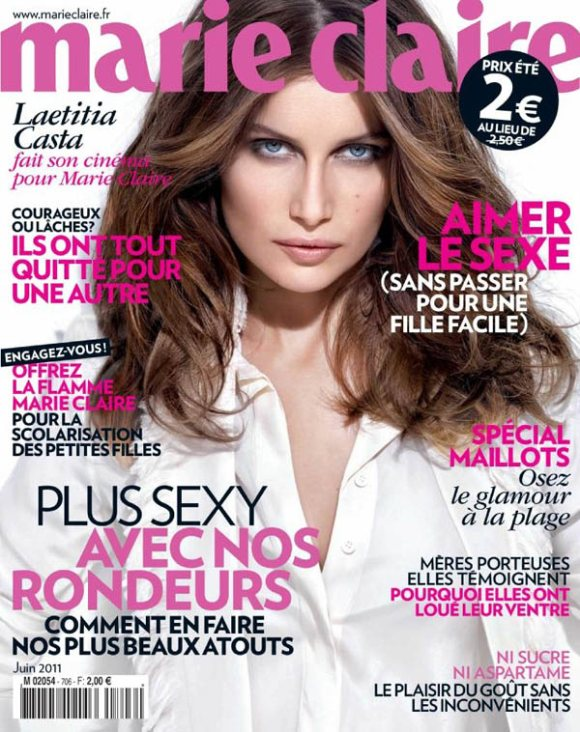 Laetitia Casta Marie Claire France June 2011