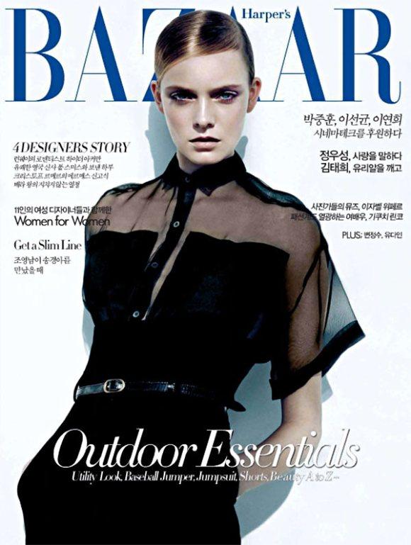 Nimue Smit Harpers Bazaar Korea May 2011