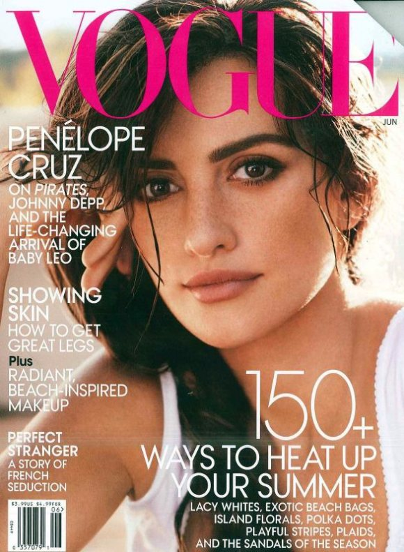 Penelope Cruz Vogue US June 2011