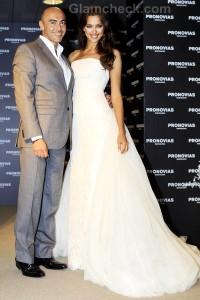 Pronovias Bridal Collection 2012 : Preview presented by Irina Shayk & Manuel Mota