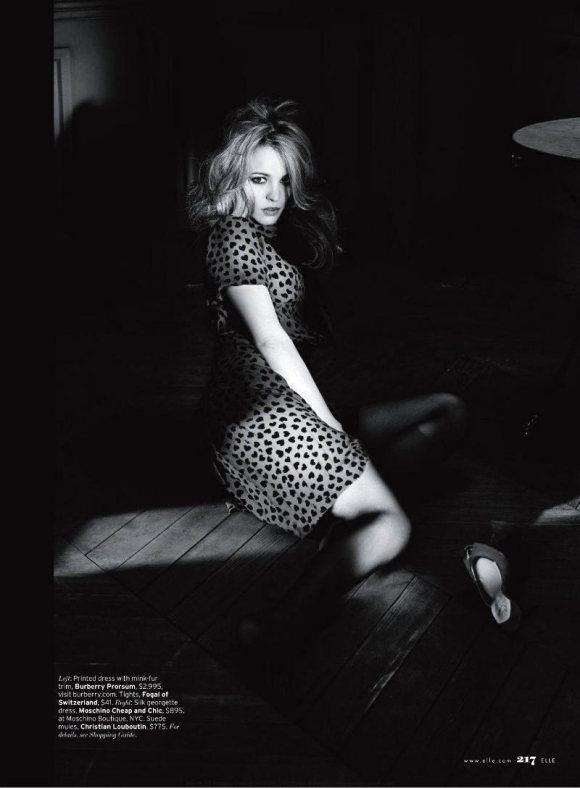 Rachel McAdams Elle US June 2011