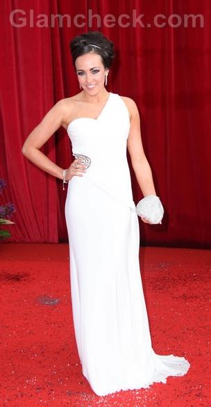 Stephanie-Davis-one-shoulder-white-gown-2011-british-soap-awards