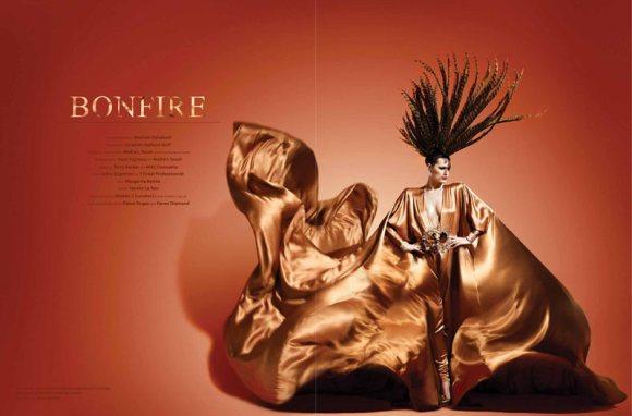 Yasmin le Bon WestEast Magazine