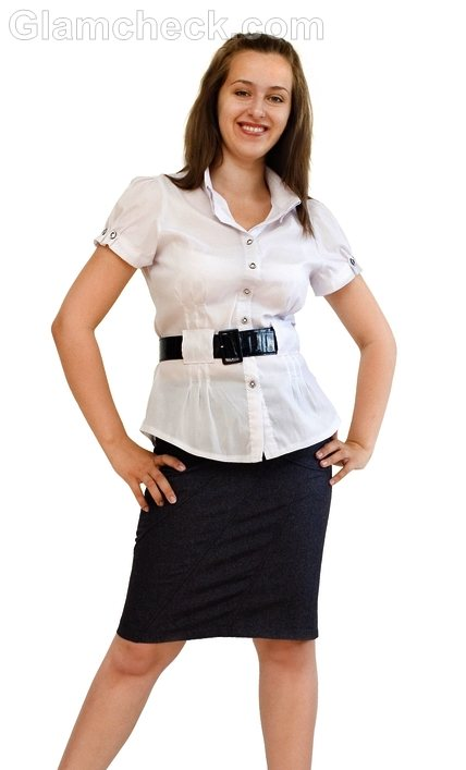 business woman attire