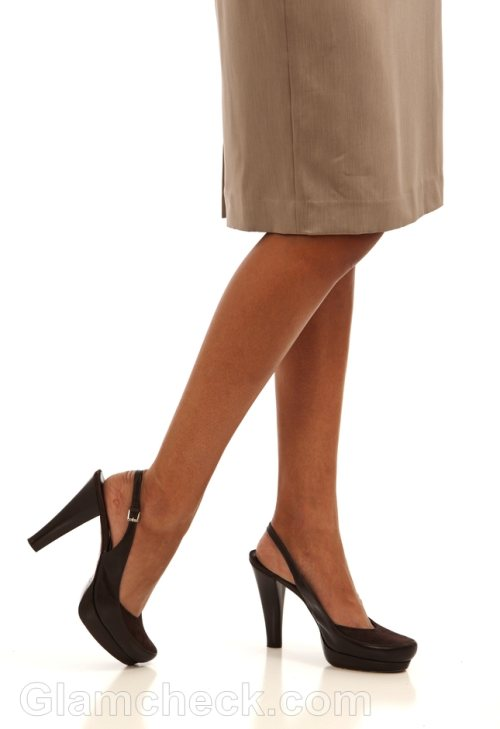 business woman shoes