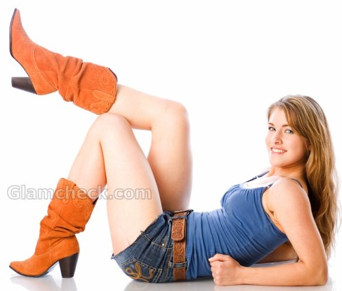 colored boots for women