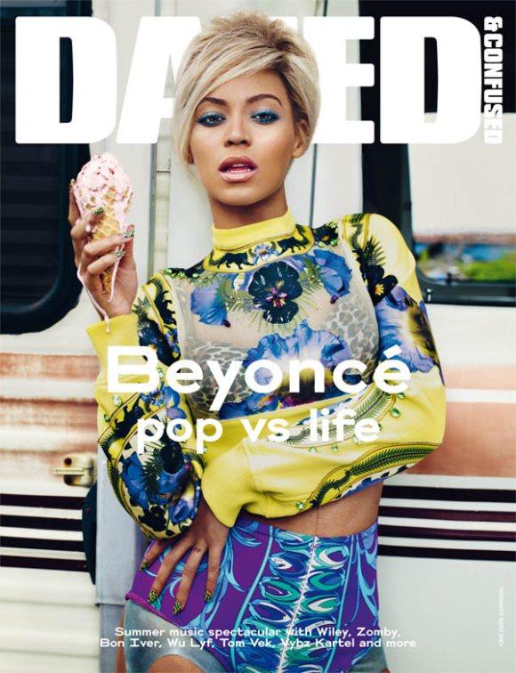 Beyonce dazed Confused July 2011