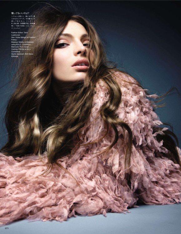 Carola Remer Vogue Japan July 2011
