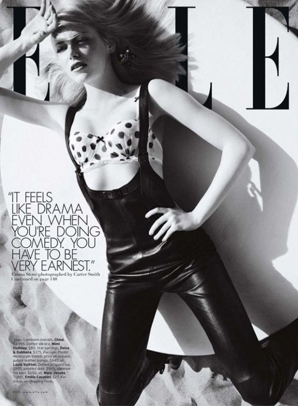Emma Stone Elle US July 2011