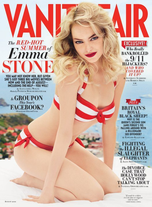 Emma Stone Vanity Fair August 2011