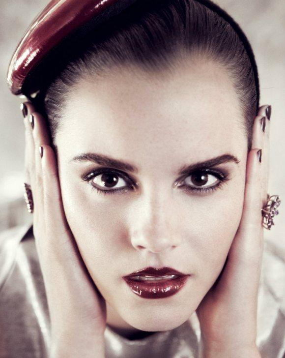 Emma Watson Vogue US July 2011