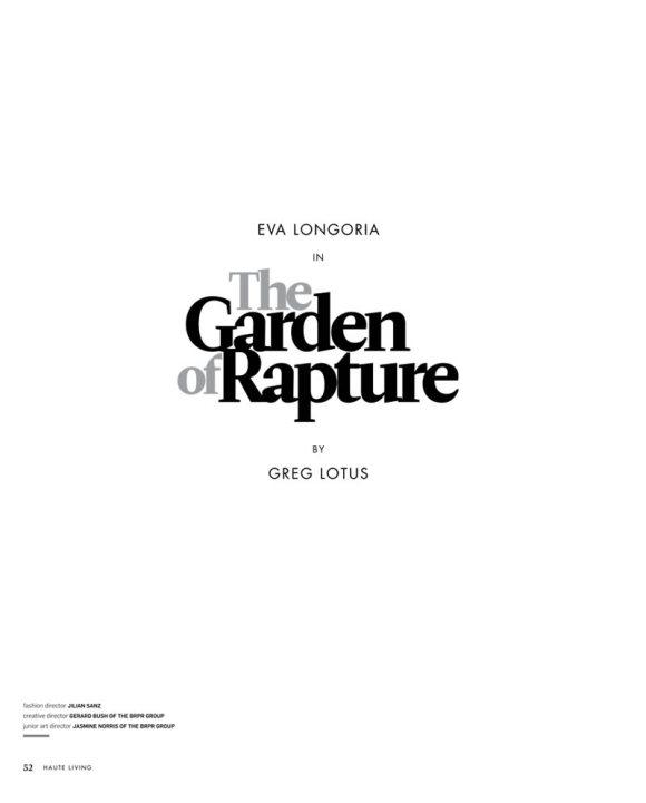 Eva Longoria Haute Living July 2011